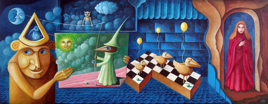 Woodman visits Land of wizard Samuel by FrodoK