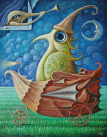 Bird Traveler VI by FrodoK