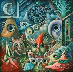 In Moon Garden by FrodoK