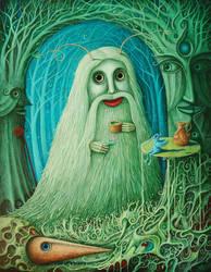 Forest Thinker VIII by FrodoK