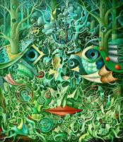Forest Machine II by FrodoK