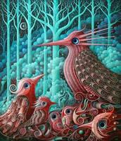 Magical Birds VII by FrodoK