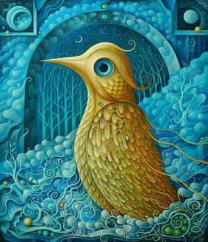 Golden Bird by FrodoK