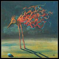 Desert bird by FrodoK