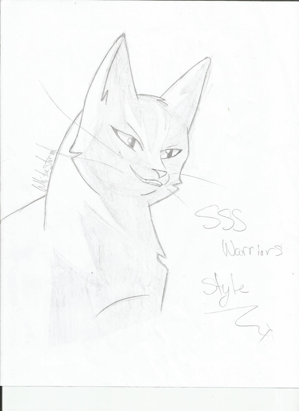 Whitestorm sss Warrior cats style by AshuriiWolf