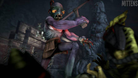 Oddworld: Assault on Necrum by Pixelsmitz