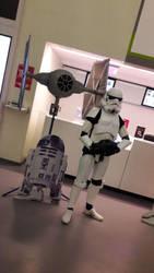 Imperial Trooper by asaziel