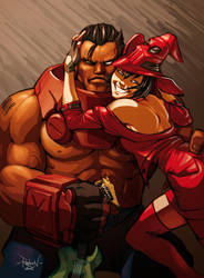 Potemkin and I-No by RaphooN