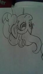 Upside down Pinkie c: by Goyini-FernaBlacky