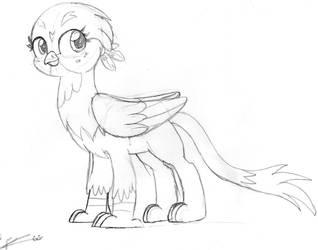 Gabby the Griffon by Goyini-FernaBlacky