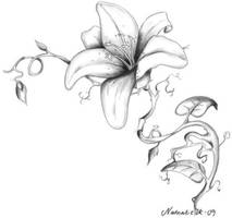 X-mas flower by Nat0-o