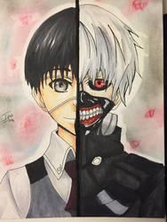 Tokyo Ghoul: kaneki ken by tinaditte