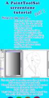 Paint Tool Sai Screentone Tutorial part 1 by Miss-Sheepy