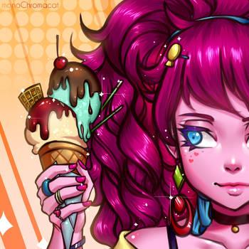 Ice Cream by monoChromacat