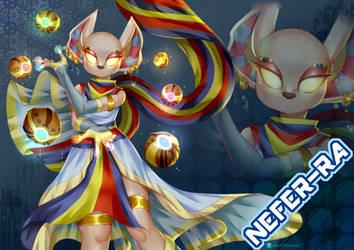 Nefer-ra by monoChromacat