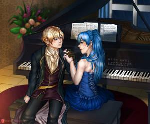 Melody by monoChromacat