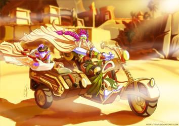 Desert Cruisin' by yapi