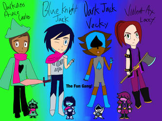 The Fun Gang!(OverRune)(10 000+ Pageviews Special) by ArtisticDreams20