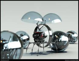 robot x-ray version by Nolan-Brunsdon
