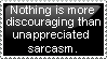 unappreciated sarcasm by Sergeant-McFluffers