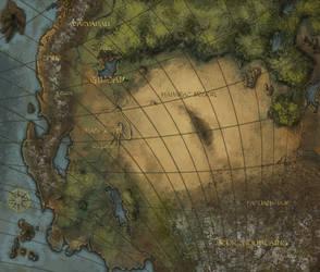 Eragon Map by Rusty001