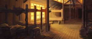 Gilead Barracks by Rusty001
