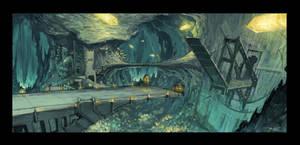 Gem Spark Mines Bridge by Rusty001