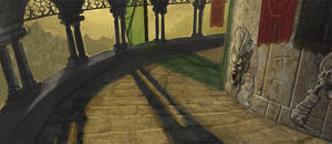 Exterior Walkway by Rusty001