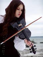 Strings of sorrow by Kechake