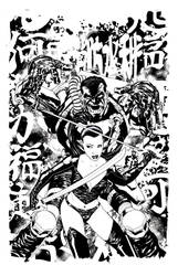 Punisher Cover:18 by mike2112mckone