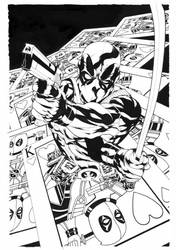 Deadpool SK Cover:001 by mike2112mckone