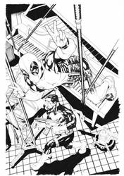 Deadpool SK Cover:002 by mike2112mckone
