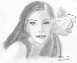 Liv Tyler by Sterys