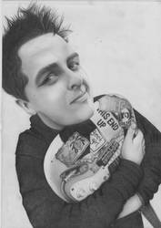 Billie Joe Armstrong by Lucky-Jacky