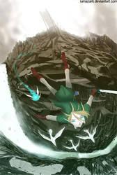 Link - Gerudo Jump by iumazark