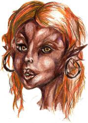 Yaffa Sketch by Oliveleaf