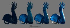 DA Study RoboArm by KawaINDEX