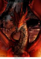 Burning Dragon by KawaINDEX