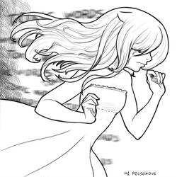Inktober18 #1 Poisonous by KawaINDEX