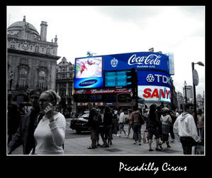 Piccadilly Circus by dedonzola