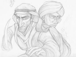 Arabesque WIP by SherlockianHound