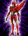 TF Prime OC: RedShift by CrimsonVampiress