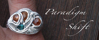 3 Garnet Ring by nonomie