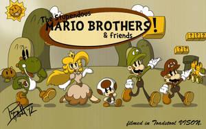 the Stupendous Mario Bros. by PixelMagus