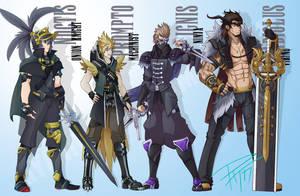 Final Fantasy XV - Job Classes by PixelMagus