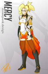 Mercy - Steampunk Design by PixelMagus