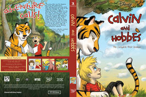 Calvin and Hobbes DVD Cover (Front and Back) by Samster360