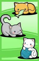Kitties by melissah84