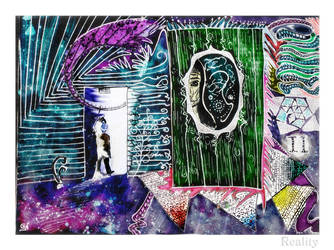 Infinite Mirror by Aqueous-dreams
