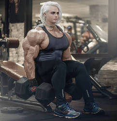 Iron Cara Gym by Nattevandrer